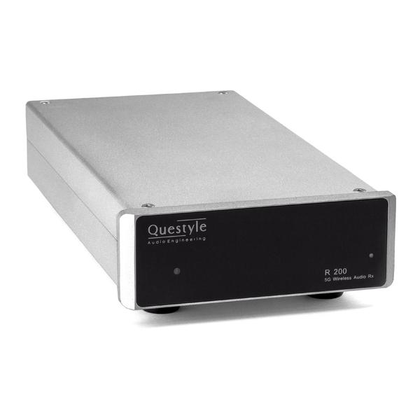Моноусилитель мощности QuestyleМоноусилитель мощности<br>Усилитель мощности моно для беспроводной системы Questyle Wireless Audio на частоте 5 ГГц, мощность 200 Вт (4 Ом), класс D, диапазон частот до 60 кГц, габариты 130 х 44 х 240 мм.<br>