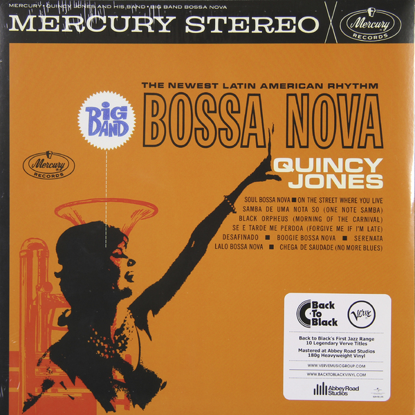 QUINCY JONES QUINCY JONES - BIG BAND BOSSA NOVA (180 GR) платье jones платье