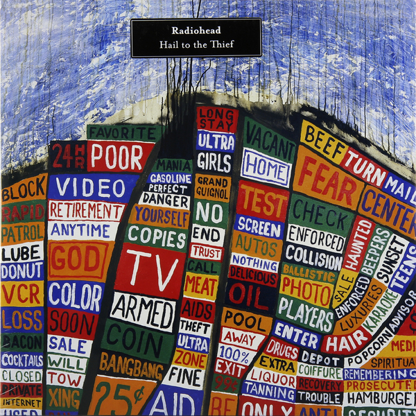 RADIOHEAD RADIOHEAD - HAIL TO THE THIEF (2 LP) radiohead stockholm