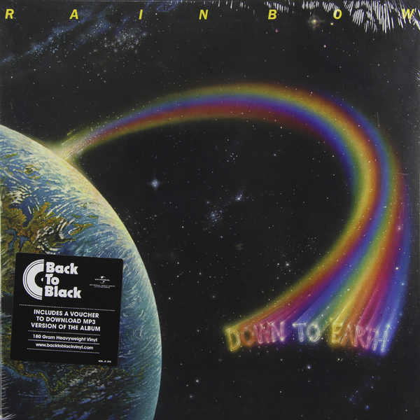 Rainbow Rainbow - Down To Earth (180 Gr) погремушка rainbow