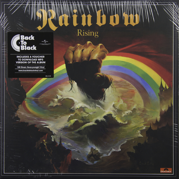 Rainbow Rainbow - Rising (180 Gr) guano apes guano apes proud like a god 180 gr colour