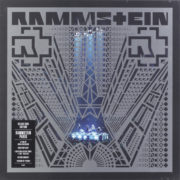 Rammstein Rammstein - Paris (4 Lp+2 Cd+br) vildhjarta vildhjarta masstaden lp cd