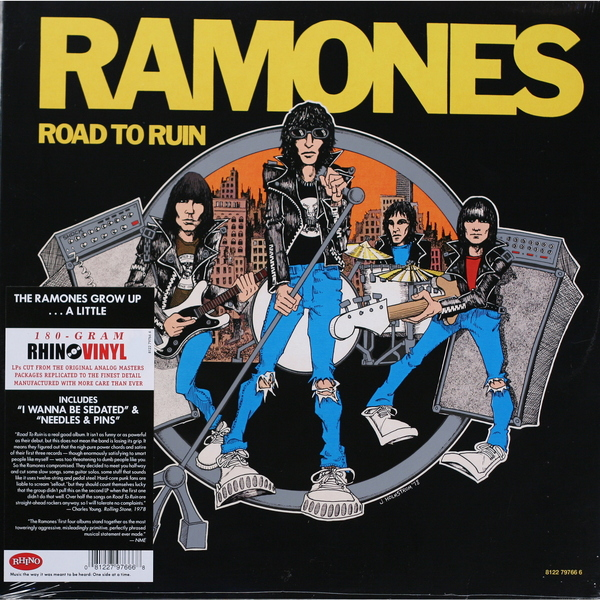 Ramones Ramones - Road To Ruin (180 Gr) architects architects ruin lp 180 gr cd