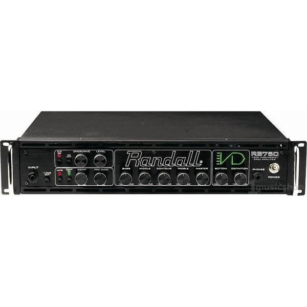 Басовый усилитель RandallБасовый усилитель<br>Усилитель для бас-гитары 750 Вт/ 4 Ом, лампа+Mosfet<br>