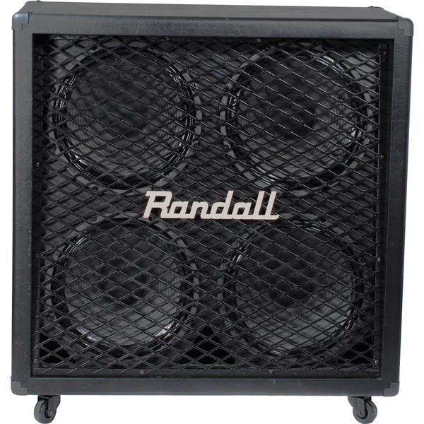 Гитарный кабинет RandallГитарный кабинет<br>Акустический кабинет прямой 4х12 , 320 Вт/260 Вт, черный<br>