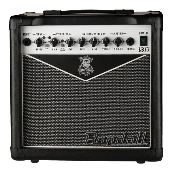 Гитарный комбоусилитель RandallГитарный комбоусилитель<br>Гитарный комбо RANDALL LB15(E)<br>