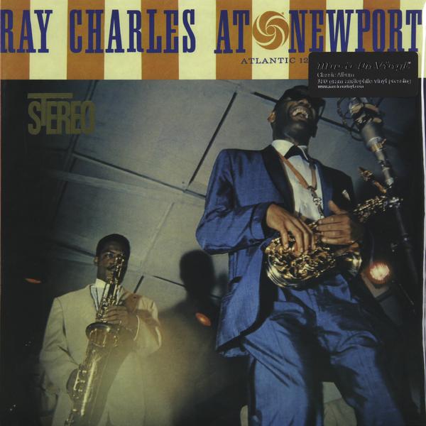 RAY CHARLES RAY CHARLES - AT NEWPORTВиниловая пластинка<br><br>