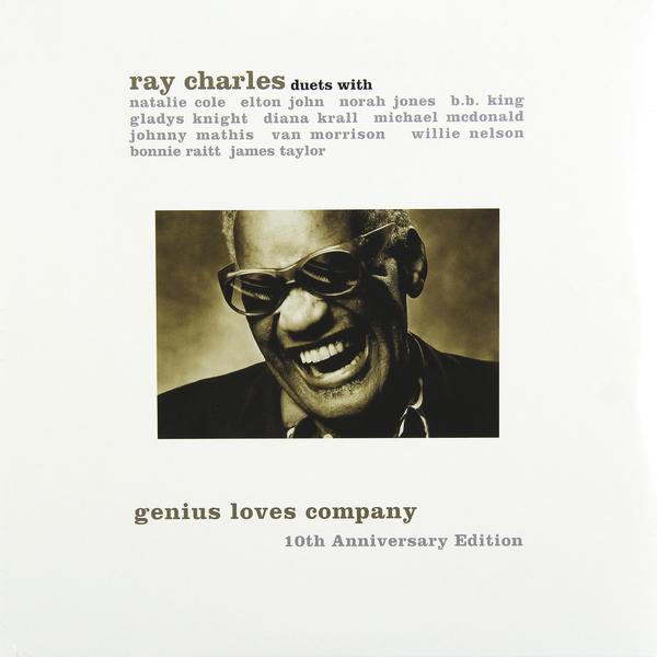 RAY CHARLES RAY CHARLES - GENIUS LOVES COMPANY (10TH ANNIVERSARY EDITION)Виниловая пластинка<br><br>