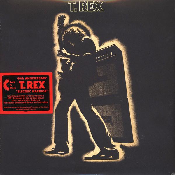 все цены на  T. REX T. REX - ELECTRIC WARRIOR (2 LP)  в интернете