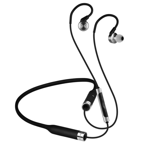 все цены на Беспроводные наушники RHA MA750 Wireless Black/Silver онлайн