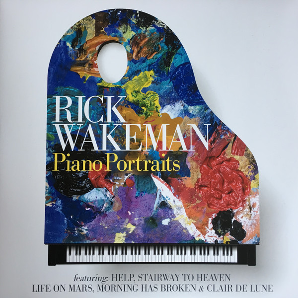 Rick Wakeman Rick Wakeman - Piano Portraits (2 LP) rick wakeman rick wakeman no earthly connection