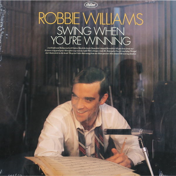Robbie Williams Robbie Williams - Swing When You're Winning robbie williams heavy entertainment show