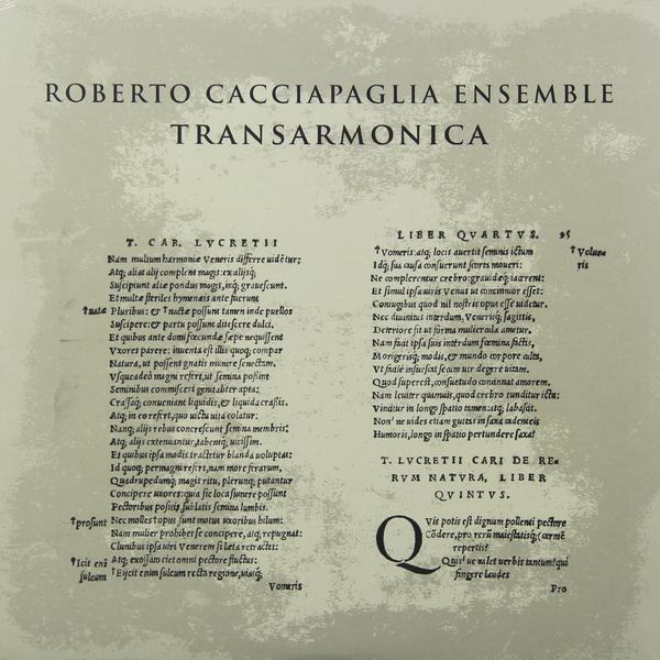ROBERTO CACCIAPAGLIA ROBERTO CACCIAPAGLIA - TRANSARMONICA
