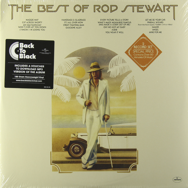 ROD STEWART ROD STEWART - THE BEST OF (2 LP, 180 GR)