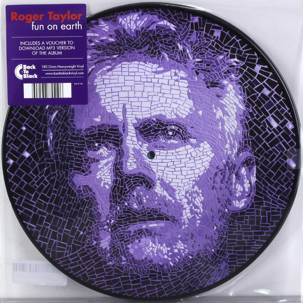 ROGER TAYLOR ROGER TAYLOR - FUN ON EARTH (PICTURE) (2 LP) taylor cole relogios tc016