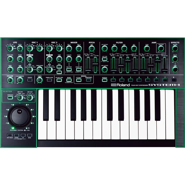 Синтезатор Roland System-1 рама и стойка для электронной установки roland mds 4v drum rack