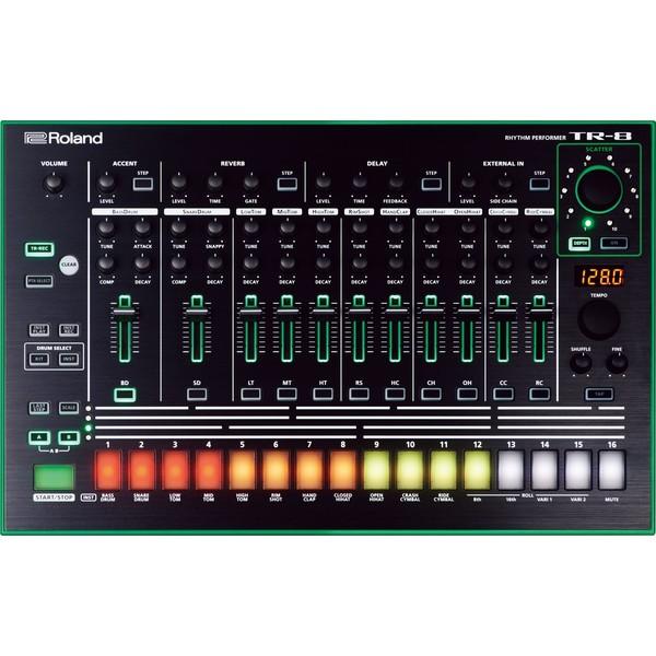 Драм-машина Roland TR-8 хай хэт и контроллер для электронной ударной установки roland fd 9 hi hat controller pedal
