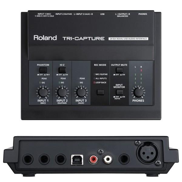Внешняя студийная звуковая карта Roland