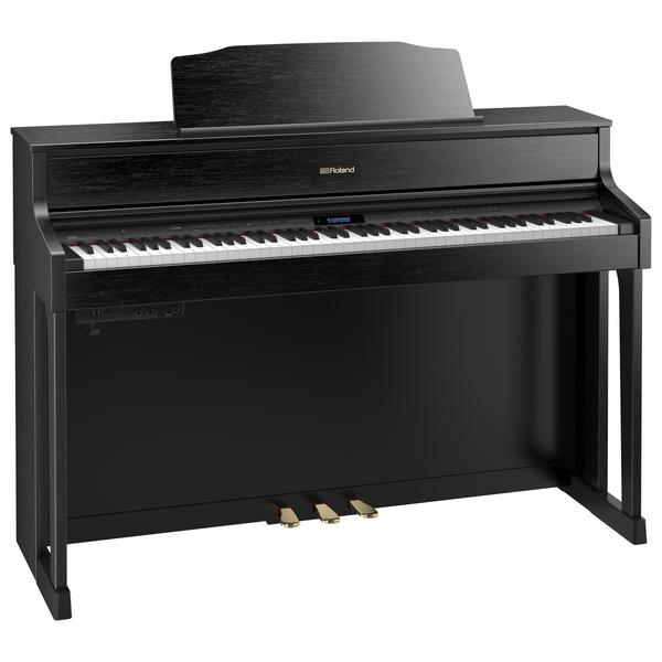 Цифровое пианино Roland HP605-CB рама и стойка для электронной установки roland mds 4v drum rack