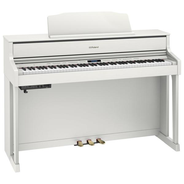 Цифровое пианино Roland HP605-WH рама и стойка для электронной установки roland mds 4v drum rack