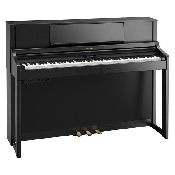 Цифровое пианино Roland LX-7-CB рама и стойка для электронной установки roland mds 4v drum rack