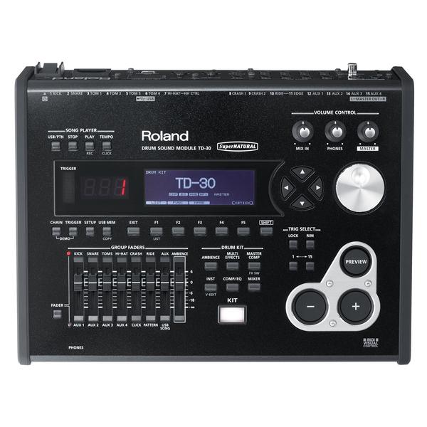 Электронные барабаны Roland Барабанный модуль TD-30