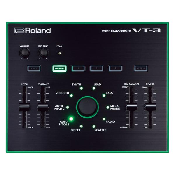 Вокальный процессор Roland VT-3 вокальный процессор roland vt 12