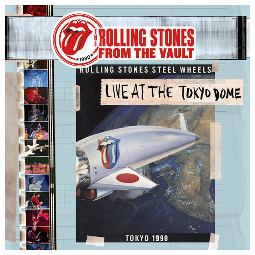 ROLLING STONES ROLLING STONES - FROM THE VAULT TOKYO DOME LIVE IN 1990 (4 LP + DVD)