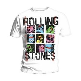 Футболка мужская The Rolling Stones - Some Girls Grid White (размер S) от Audiomania
