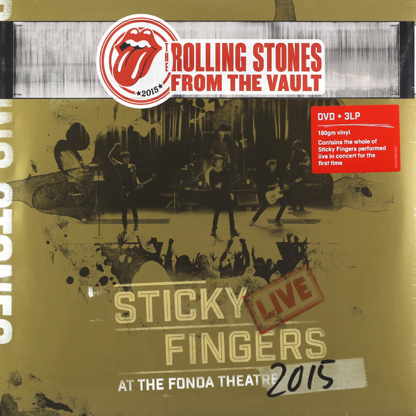 Rolling Stones Rolling Stones - Sticky Fingers Live  At The Fonda Theatre 2015 (3 Lp+dvd) stones пиджак