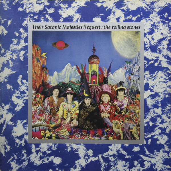 ROLLING STONES ROLLING STONES - THE SATANIC MAJESTIES REQUEST (JAPAN ORIGINAL. 1ST PRESS) (винтаж) t rex t rex the slider japan original 1st press picture boock poster винтаж