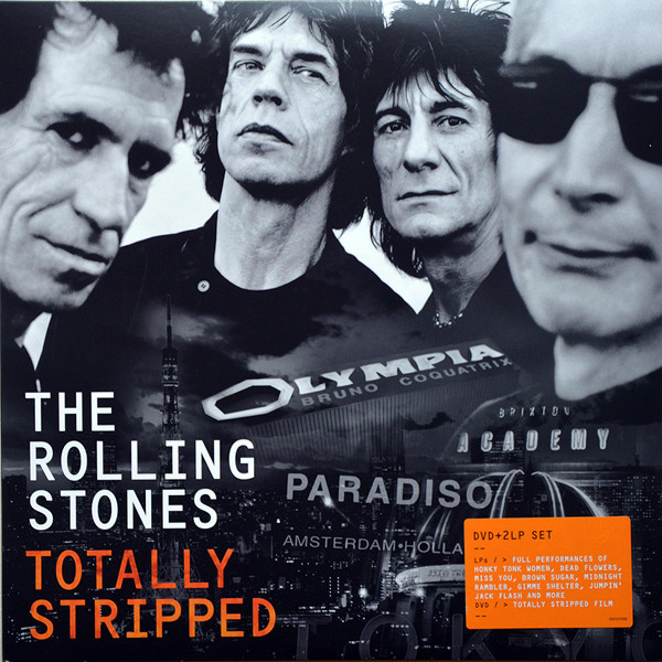 Rolling Stones Rolling Stones - Totally Stripped (2 Lp + Dvd)