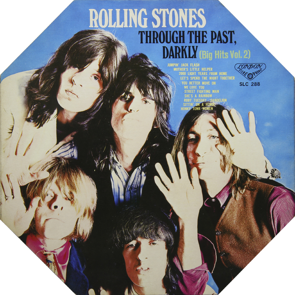 Rolling Stones Rolling Stones - Trough The Past, Darkly: Big Hits Vol. 2 (japan Original. 1st Press) (винтаж) japan and the shackles of the past