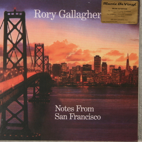 RORY GALLAGHER RORY GALLAGHER - NOTES FROM SAN FRANCISCO (3 LP, 180 GR)