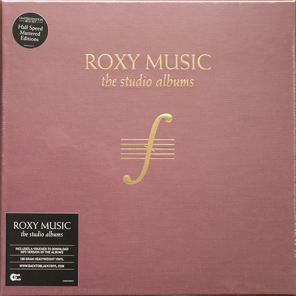 Roxy Music Roxy Music - The Complete Studio Albums (8 Lp Box) the complete albums 1970 1976 cd