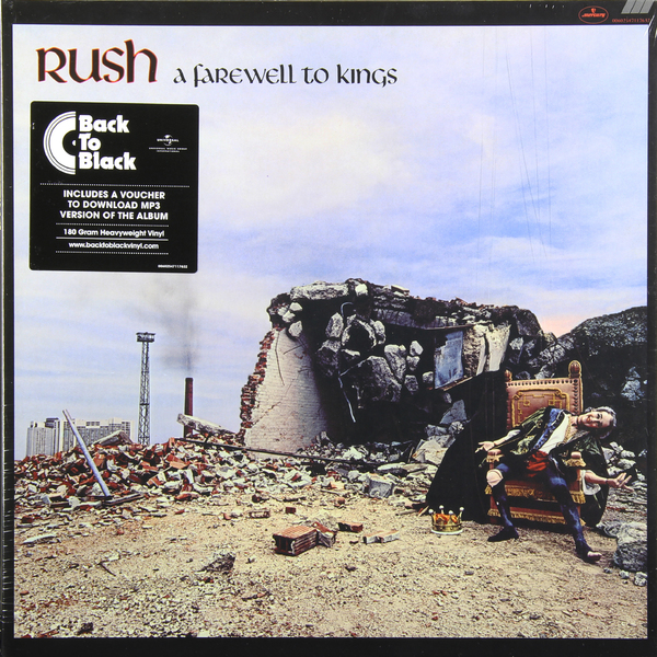 RUSH RUSH - A Farewell To Kings (180 Gr) виниловые пластинки rush vapor trails remixed 180 gram w490