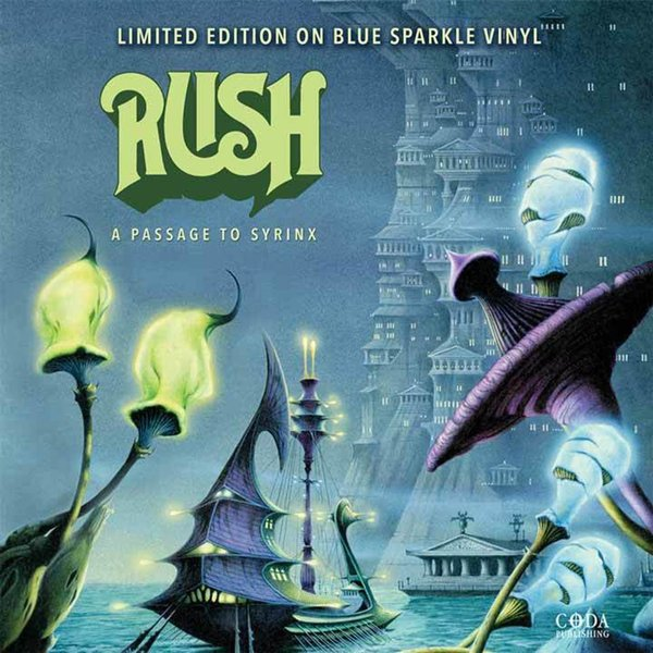RUSH RUSH - A Passage To Syrinx (colour) rush rush moving pictures lp