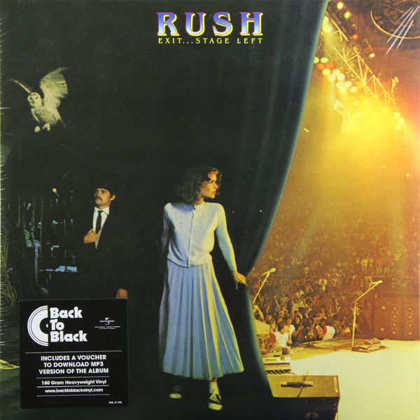 RUSH RUSH - Exit… Stage Left (2 Lp, 180 Gr) купить