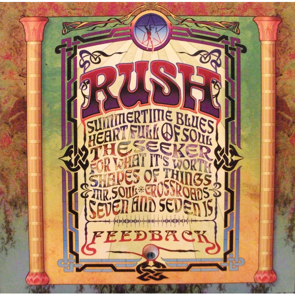 RUSH RUSH - Feedback (200 Gr) rush rush moving pictures lp
