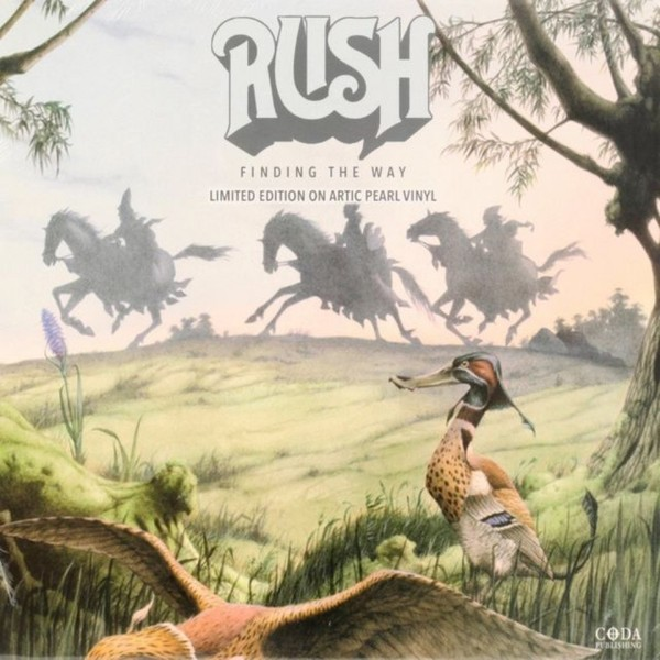 RUSH RUSH - Finding The Way (colour) rush rush signals blu ray audio