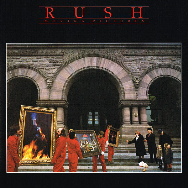RUSH RUSH - Moving Pictures rush rush moving pictures lp
