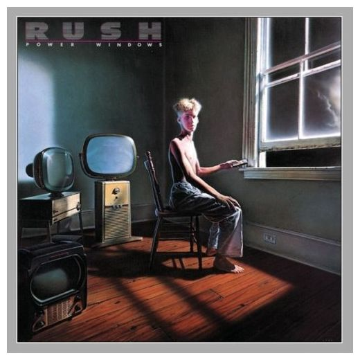 RUSH RUSH - Power Windows rush rush moving pictures lp