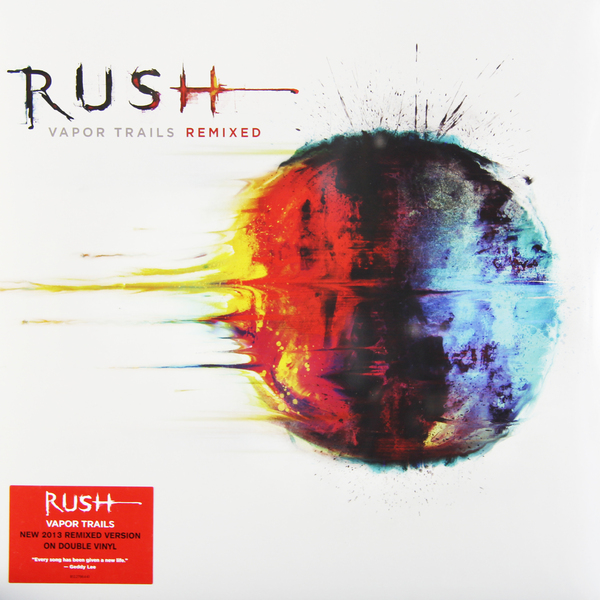 RUSH RUSH - Vapor Trails Remixed (2 Lp, 180 Gr) виниловые пластинки rush vapor trails remixed 180 gram w490