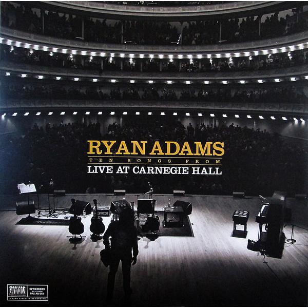 Ryan Adams Ryan Adams - Ten Songs From Live At Carnegie Hall картридж сменный для фильтра bestway 1249 л час 2 шт 58093