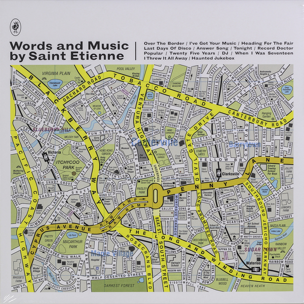Saint Etienne Saint Etienne - Words And Music By Saint Etienne etienne pубашка