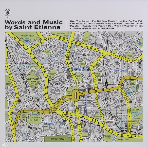 SAINT ETIENNE SAINT ETIENNE - WORDS AND MUSIC BY SAINT ETIENNE saint