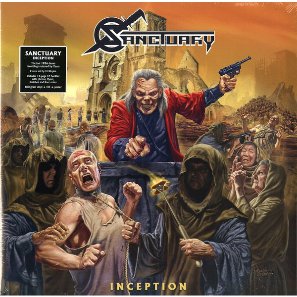 Sanctuary Sanctuary - Inception (lp+cd) partners lp cd