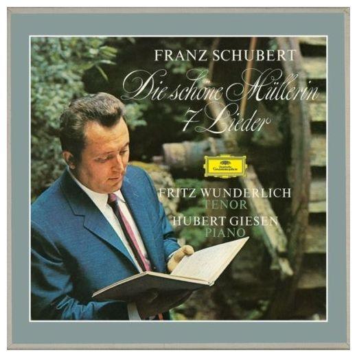 SCHUBERT SCHUBERT - DIE SCHONE MULLERIN, 7 LIEDER (2 LP)