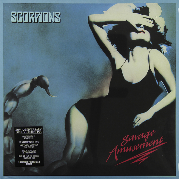 Scorpions Scorpions - Savage Amusement (50th Anniversary Deluxe Edition)
