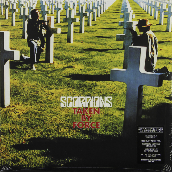 Scorpions Scorpions - Taken By Force (50th Anniversary Deluxe Edition)